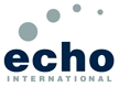 Echo International logo